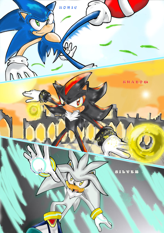 Missyuna Sonic Shadow And Silver By