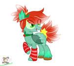 Christmas Bat Pony Custom