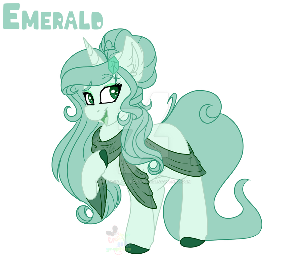 [Gift] Emerald by CreativeChibiGraphic