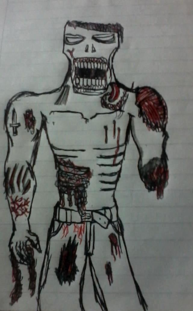 Ramdom Zombie by umbrellamaster