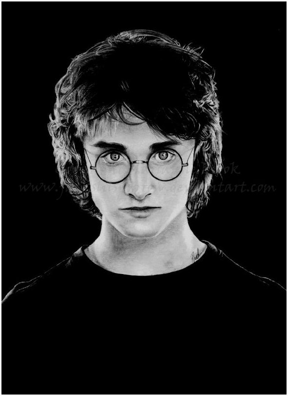 black and white harry potter - 28 images - black and white ...