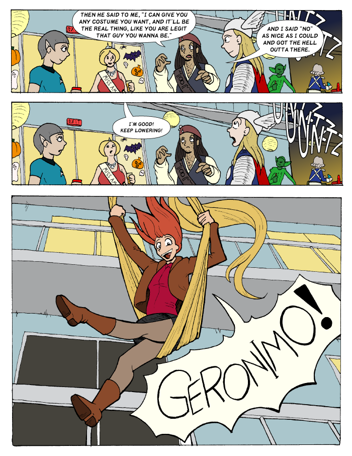 Let Your Hair Down - Page 12 by Catomix