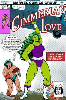 Cimmerian Love - Parody Marvel Crossover