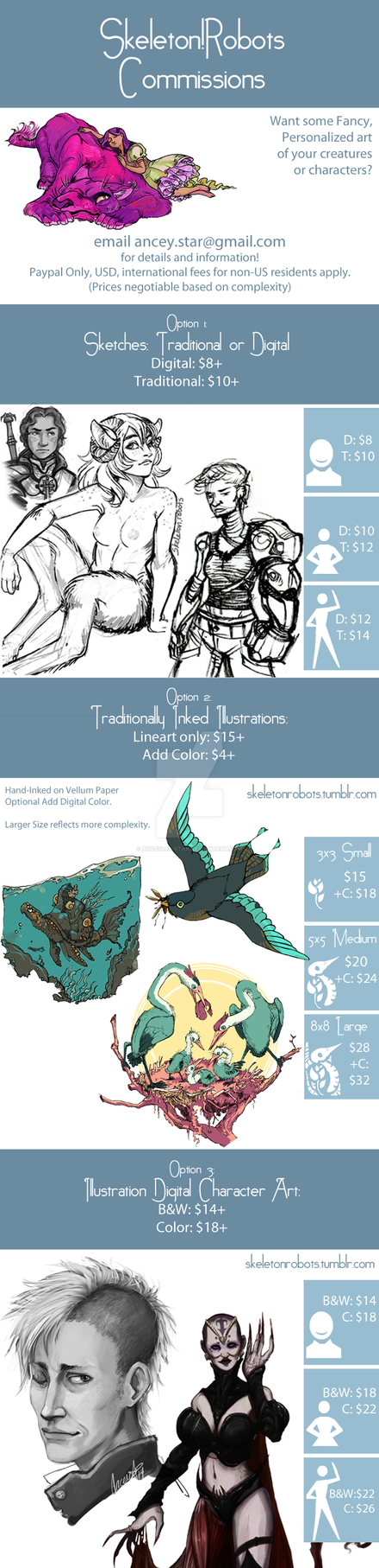 Commissions Listings September 2014 by Anceylee-Star