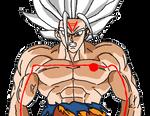 goku ssj omni god shintani (render)