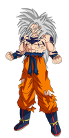 Goku Mazoku (Demon transformation ) YYH x DBS V2