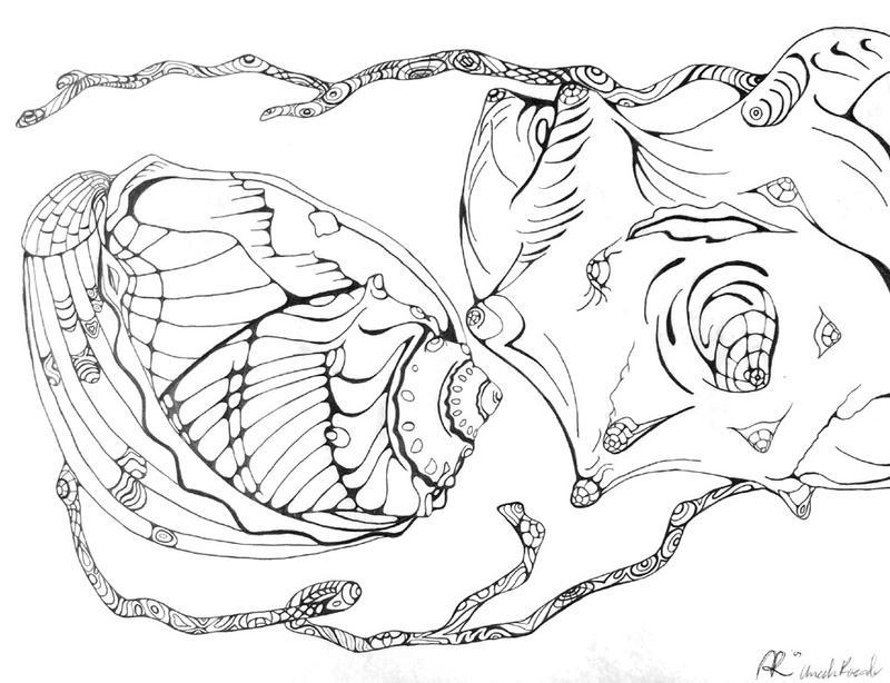 Art Line Quality : Shells line quality by tsuyujimu on deviantart