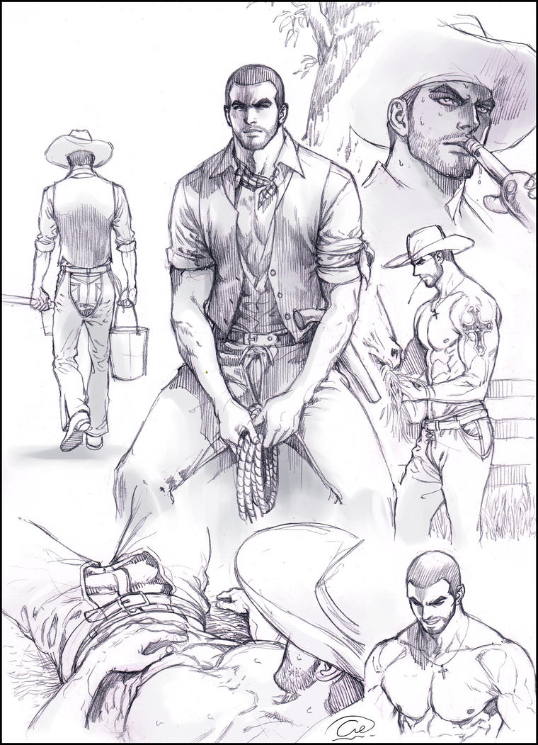 Cowboy life. by aenaluck