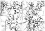 Argis and his master comic.