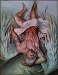 Master with angel wings,(Covered with tarps)