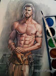 Watercolor painting. V2