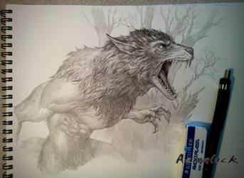 Werewolf by aenaluck