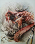 Master and tha Ancient dragon^^