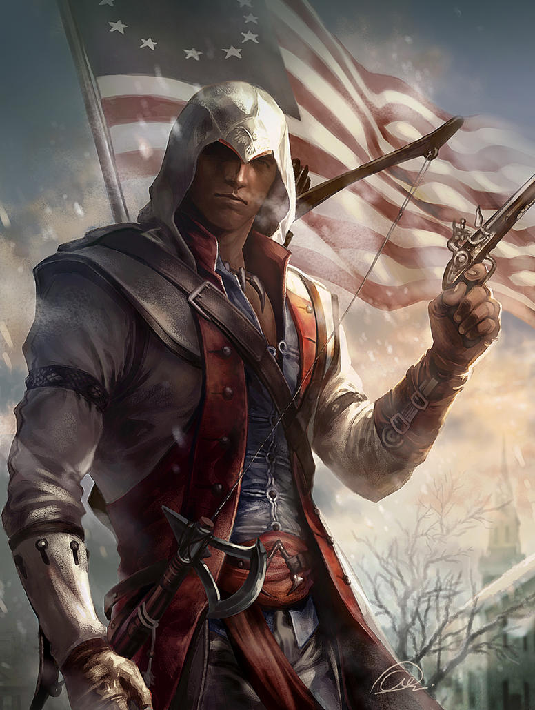 Conner Kenway by aenaluck