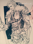Pen sketch(no erasing)