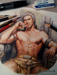 Colored pencils Artwork Master.