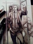 My Master on subway.