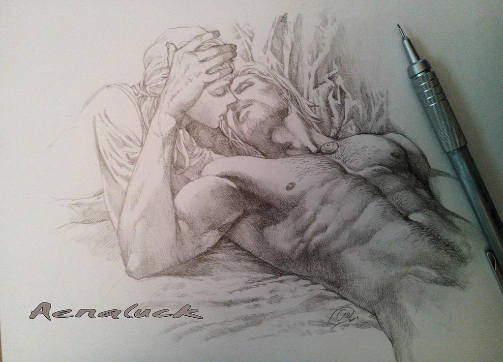 Romantic Scene by aenaluck