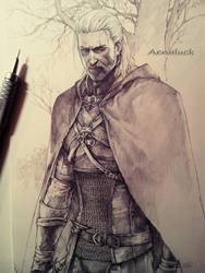 Geralt from The Witcher 3 by aenaluck