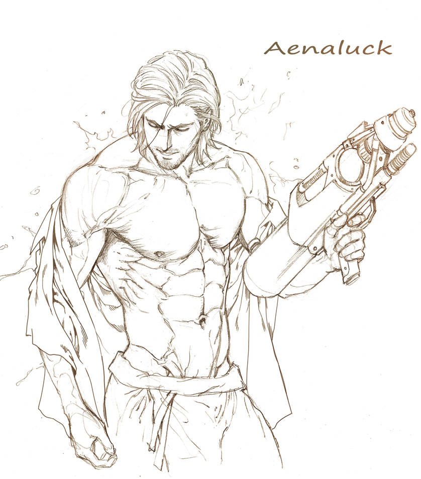 Sketch for songkran festival 2016 by aenaluck