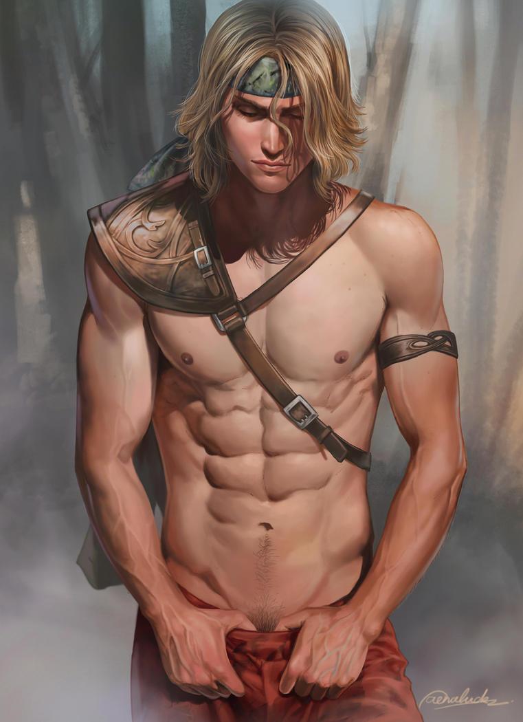 Body this digital nude boy