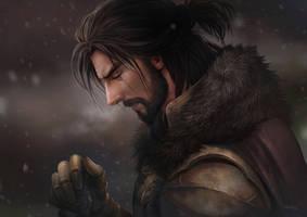 Warrior Carlness by aenaluck