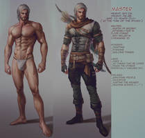 Master character info
