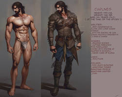 Carlnes: character info sheet