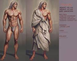 Thoron: character info sheet