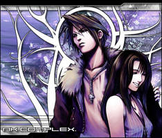 Squall and rinoa by nk-complex