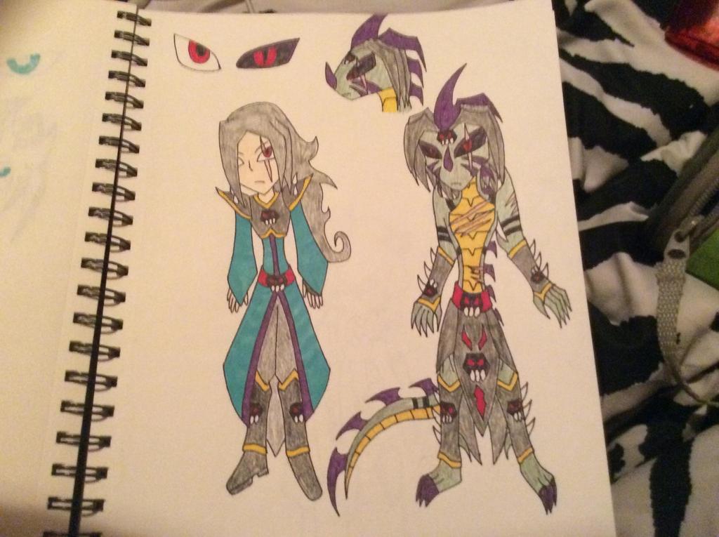 Shadow dragon by amberbishop