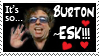 Burton-ESK stamp by Ellgon