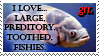 LARGE Fishie Love by Ellgon