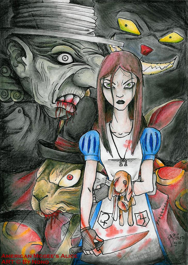 AMerican Mcgee's Alice by Nonosama
