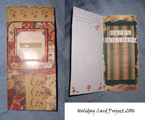 Holiday Card Project 2006