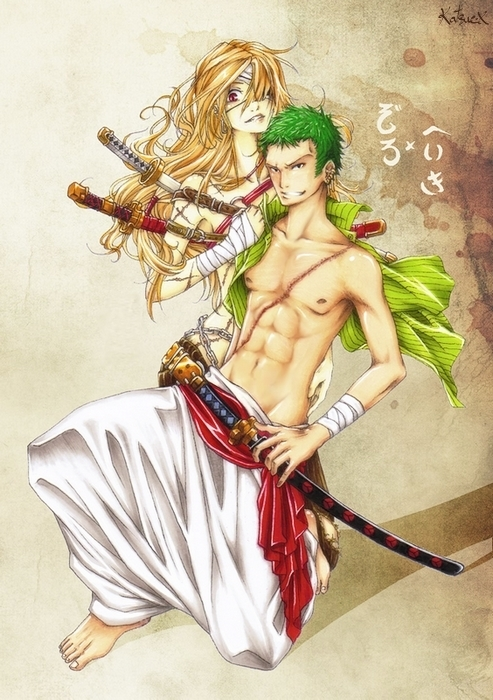 Zoro no Renai by Katsue-x