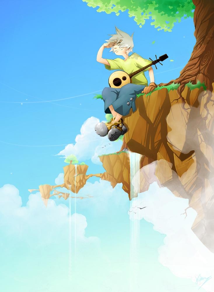 Flyin' by Katsue-x