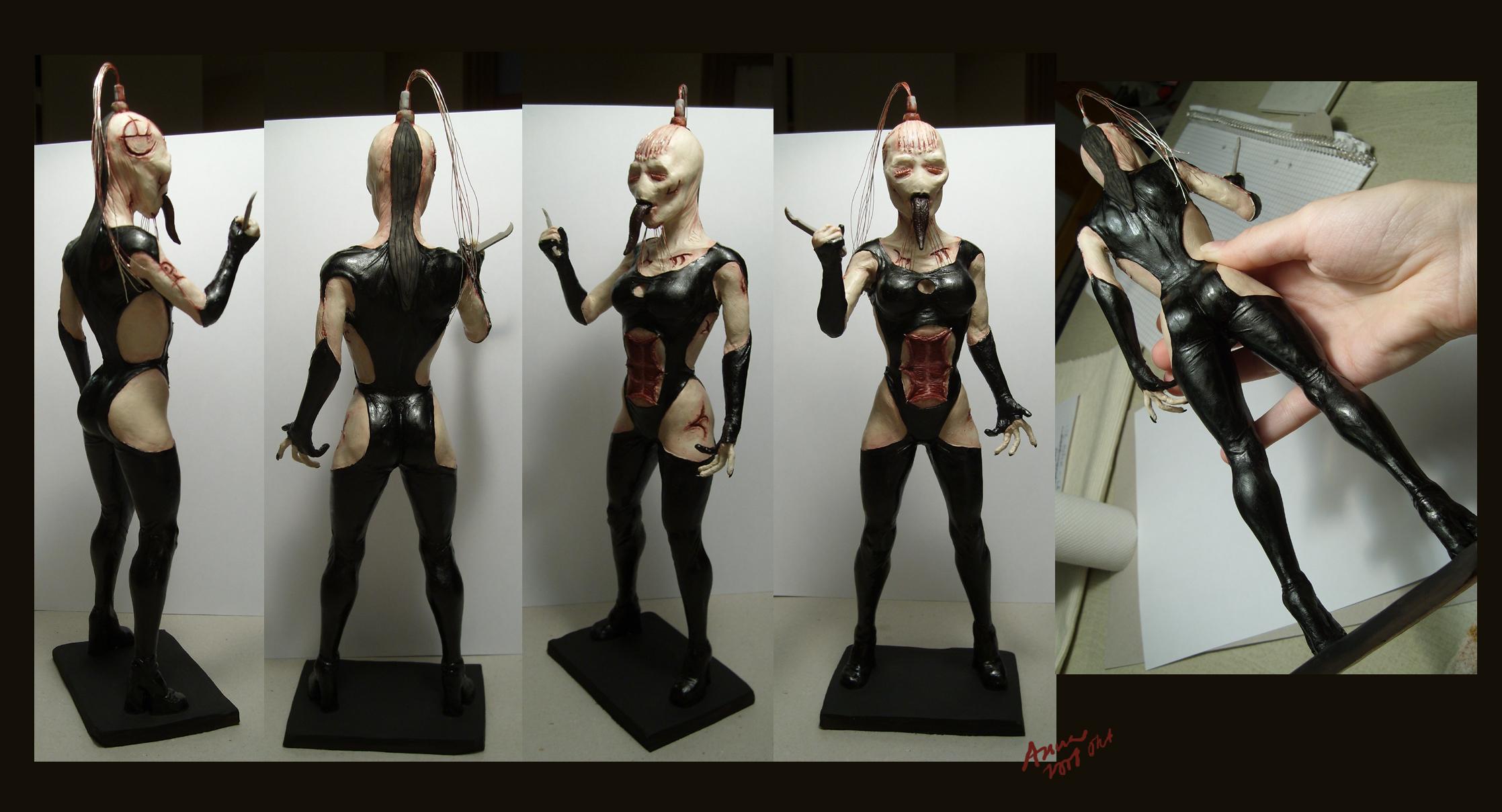 hellraiser wire twin sculpt by redtrackz on deviantart