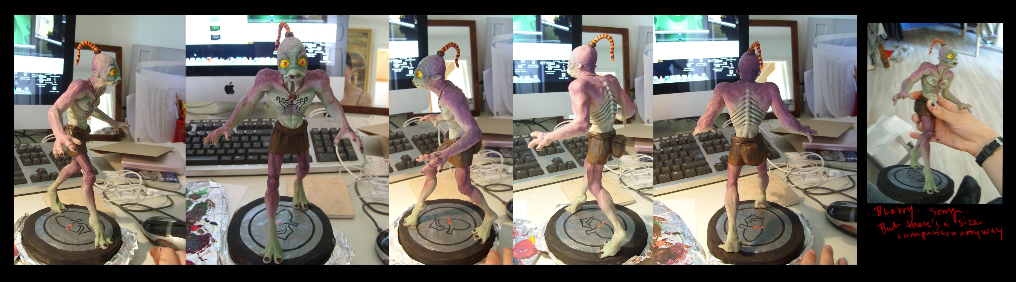 Abe Oddworld COMM by redtrackz