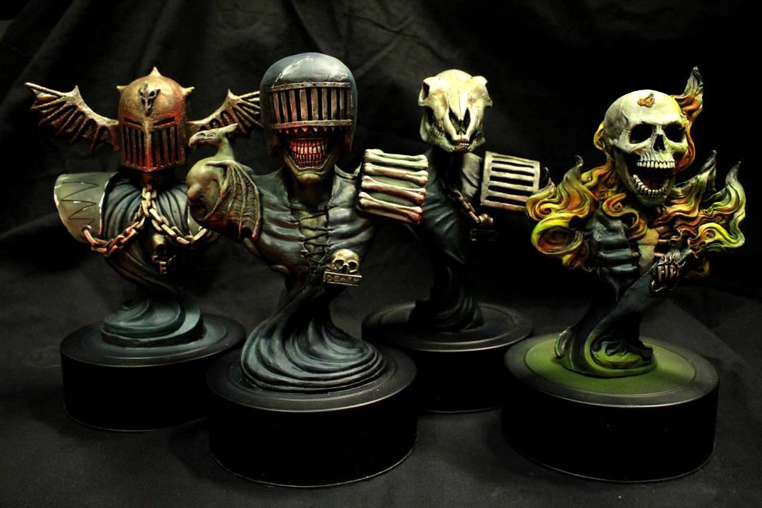 Dark Judges bust set