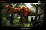 Primal Carnage Rex Promotional Art