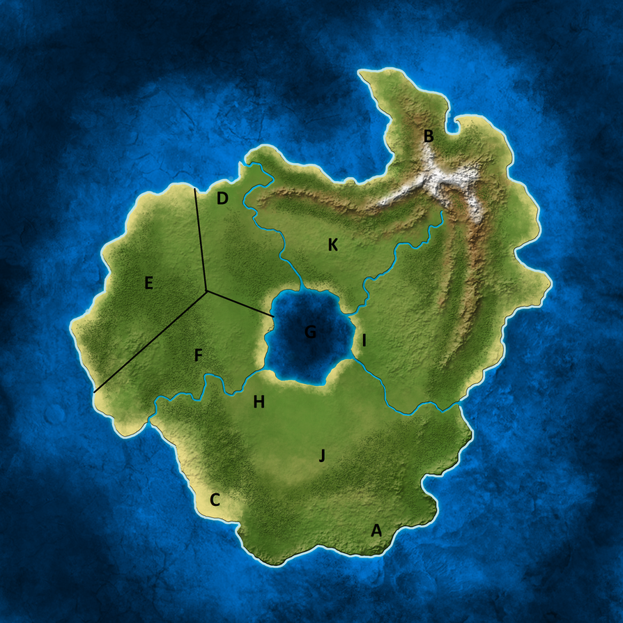 Archosaur island Map points by Ikechi1