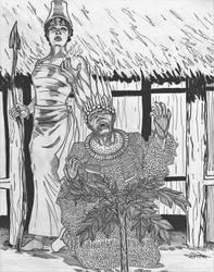 Ahia and Menri by Ikechi1