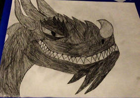 Dragon sketch.