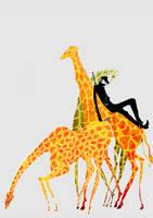 Kaku on Giraffe by airahnn