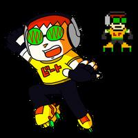 Jet Set Radio - Beat (Mega Man Style) by The-Del-Bel