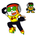 Jet Set Radio - Beat (Mega Man Style)