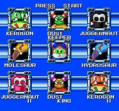 Blinx The Time Sweeper Boss Select (Megaman Style)
