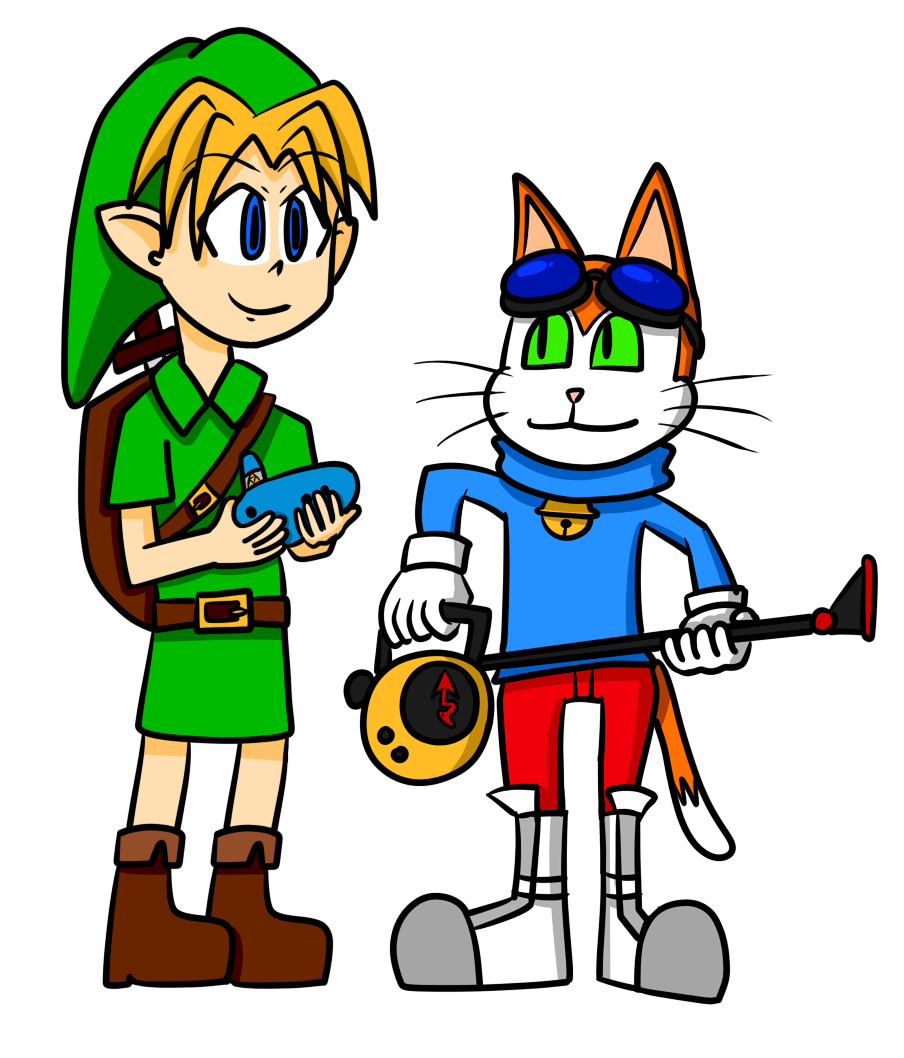 Blinx and Link