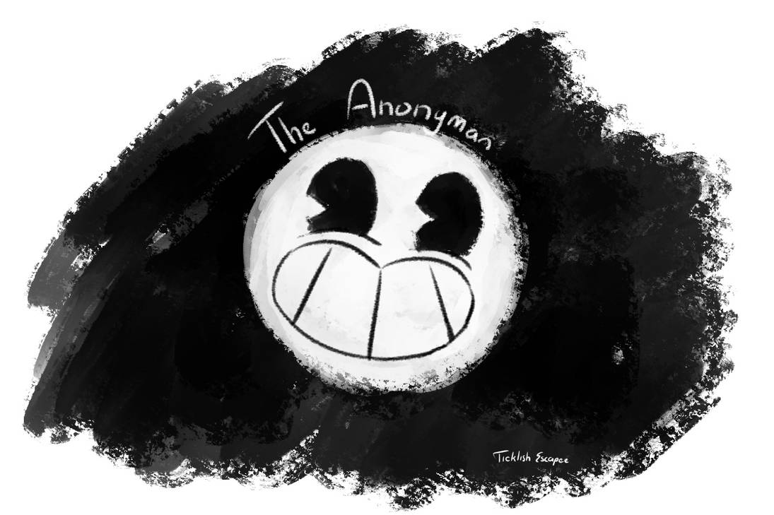 Anonyman by TicklishEscapee